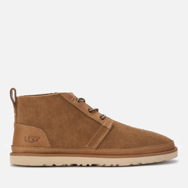 UGG Men's Neumel Unlined Leather Chukka Boots - Chestnut