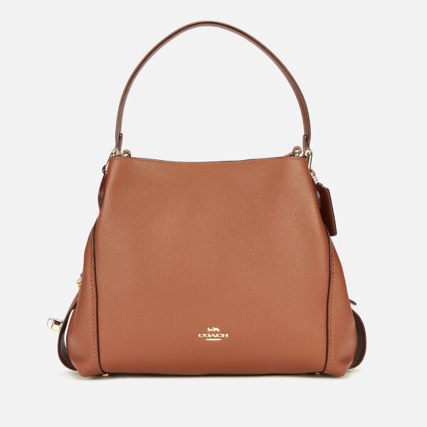 c99ee609336d Coach Women s Polished Pebble Leather Edie 31 Shoulder Bag - 1941 Saddle   Image 1