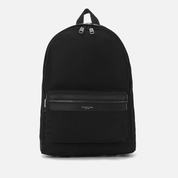 Michael Kors Men's Kent Backpack - Black/White
