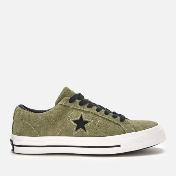 d795fa9ef84 Converse Men s One Star Ox Trainers - Field Surplus Black White  Image 1