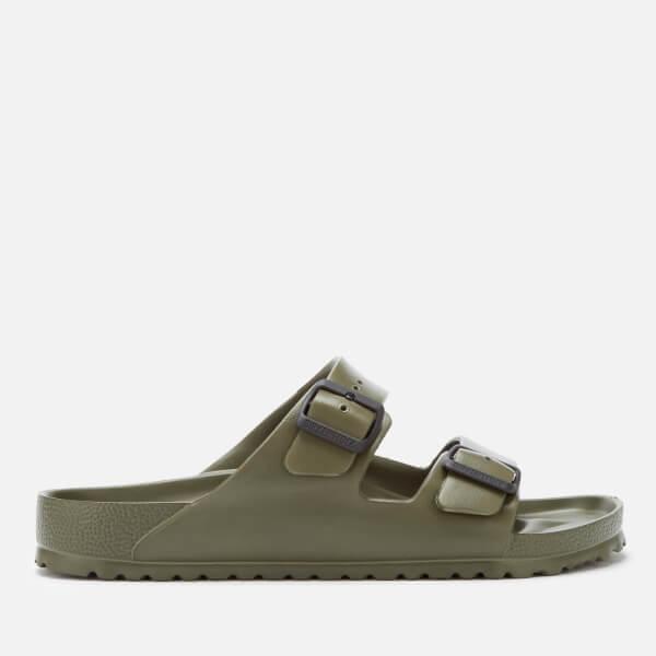 Birkenstock Men's Arizona EVA Double Strap Sandals - Khaki