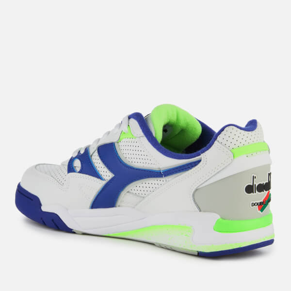 Diadora Men s Rebound Ace Trainers - White Imperial Blue Mens ... c012bffd2b7
