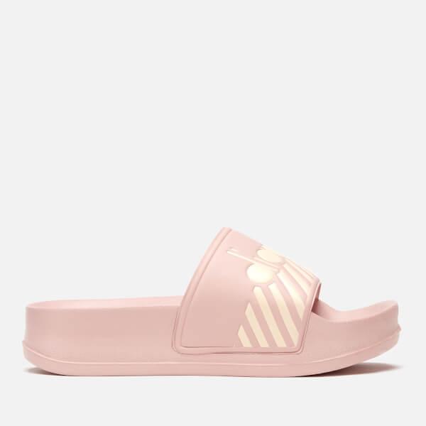 5e17a025f156 Diadora Women s Serifos 90 Wide Barra Slide Sandals - Rose Smoke  Image 2