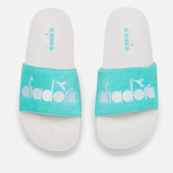 Diadora Women's Aqua Splash Slide Sandals - Aqua Splash