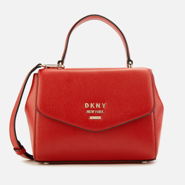 DKNY Women's Whitney Small Th Satchel Bag - Red