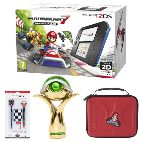 Nintendo 2DS Mario Kart 7 Cup Pack