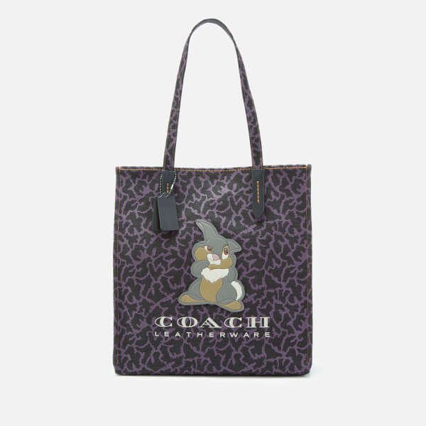 Coach 1941 Women's X Disney Thumper Tote Bag - Black