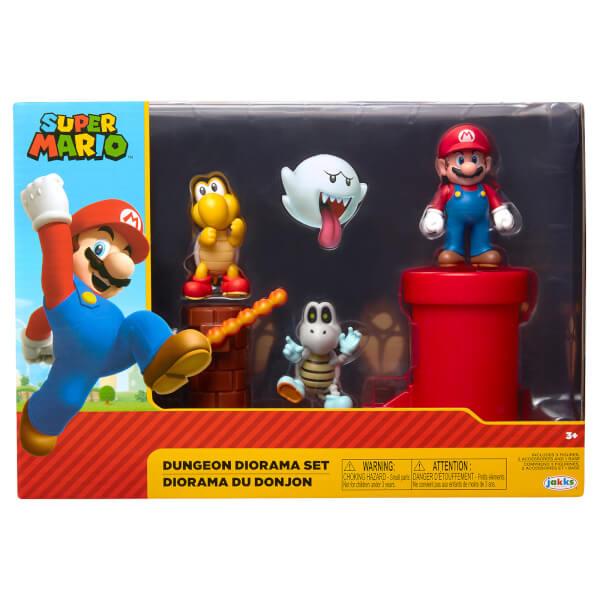 Super Mario Dungeon Diorama Set