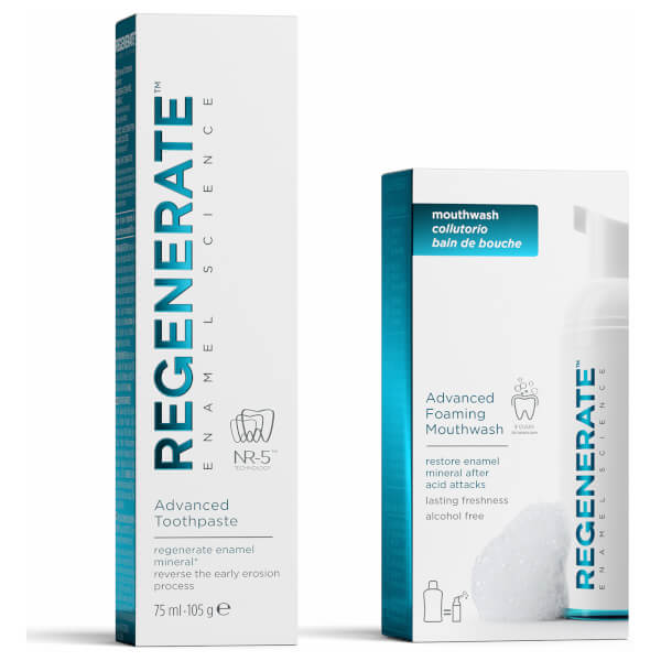 Regenerate Advanced Toothpaste and Mouthwash Bundle (Worth £20)