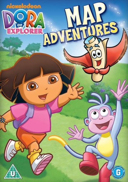 Dora The Explorer - Dora's Map Adventure