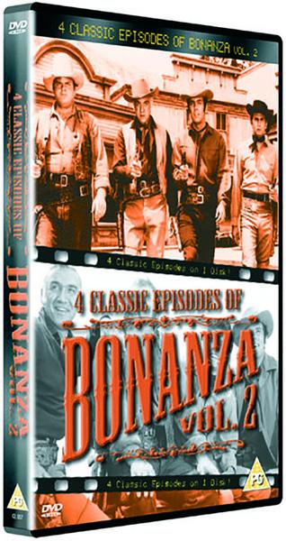 Bonanza 4 classic episodes vol 2 dvd for Classic house mastercuts vol 3
