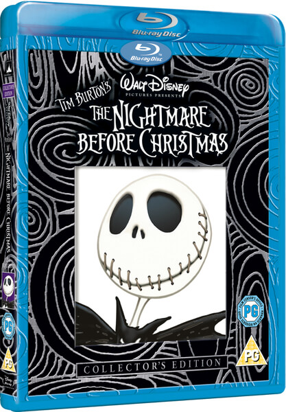 Nightmare Before Christmas Blu Ray 3d