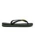 Havaianas Brasil Logo Flip Flops - Black: Image 2