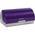 Morphy Richards 46243 Roll Top Bread Bin - Plum: Image 1