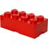 Ladrillo de almacenamiento rojo de 8 espigas LEGO®: Image 1