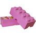 Brique de rangement LEGO® rose 8 tenons: Image 2
