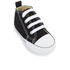 Converse Babies' Chuck Taylor All Star Hi-Top Trainers - Black/White: Image 2