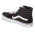 Vans Sk8-Hi Canvas Hi-Top Trainers - Black/White : Image 6