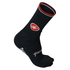 Castelli Quindici Soft Socks - Black: Image 1