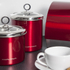 Morphy Richards Accents Large Storage Canister - Red: Image 3