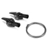 SRAM 1190 R2C TT Shifter Set (11spd) Index Yaw Front: Image 2