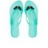 Jason Wu For Melissa Women's Harmonic Crystal Flip Flops - Emerald: Image 1