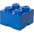 LEGO Storage Brick 4 - Blue: Image 1