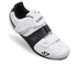 Giro Factor ACC Road Cycling Shoes - White/Black: Image 1