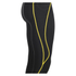 Skins Men's A200 Thermal Long Compression Tights - Black/Yellow: Image 3