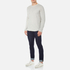 Edwin Men's Terry Long Sleeve T-Shirt - Grey Marl: Image 4