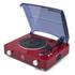 GPO Stylo Plattenspieler (3 Geschwindigkeiten) mit integrierten Lautsprecher - Rot: Image 1