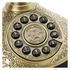 GPO Retro Duchess Telephone with Push Button Dial - Gold: Image 2