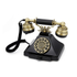 GPO Retro Duke Telephone with Push Button Dial - Black: Image 1