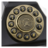 GPO Retro Duke Telephone with Push Button Dial - Black: Image 3