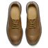 Dr. Martens Men's Milled Dorian 3-Eye Leather Shoes - Brown: Image 2