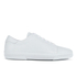 A.P.C. Men's Jaden Leather Tennis Shoes - White: Image 1
