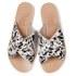 Ancient Greek Sandals Women's Thais Pony Leather Slide Sandals - Splash: Image 2