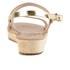 Ancient Greek Sandals Women's Clio Platform Leather Sandals - Platinum: Image 3