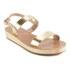 Ancient Greek Sandals Women's Clio Platform Leather Sandals - Platinum: Image 5