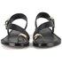 Ted Baker Women's Prendie Toe Post Leather Sandals - Black/Gold: Image 4