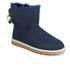 UGG Women's Selene Mini Sheepskin Boots - Navy: Image 5
