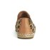 UGG Women's Sandrinne Calf Hair Leopard Slip On Espadrille Shoes - Chestnut Leopard: Image 3