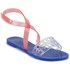 Melissa Women's Tasty Flat Sandals - Clear/Pink: Image 5