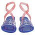 Melissa Women's Tasty Flat Sandals - Clear/Pink: Image 4
