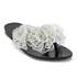 Melissa Women's Harmonic Garden Flower Flip Flops - Black Contrast: Image 3
