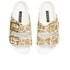 Senso Women's Ida XI Double Strap Giraffe Pony Sandals - Steel: Image 2