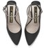 Kat Maconie Women's Amelia Leather Block Heel Ankle Strap Court Shoes - Black: Image 2