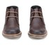 Barbour Men's Readhead Leather Chukka Boots - Dark Brown: Image 4