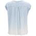 BOSS Orange Women's Todiscover Dip-Dye T-Shirt - Light/Pastel Blue: Image 2