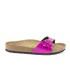 Birkenstock Women's Madrid Single Strap Metallic Sandals - Mirror Pink: Image 1
